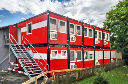 Escritório de obra modular, Ostermundigen, Suíça