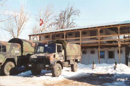 CONTAINEX - Exército suiço, Kosovo