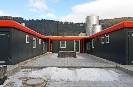 Cantina construída a partir de contentores, SK-Ružomberok