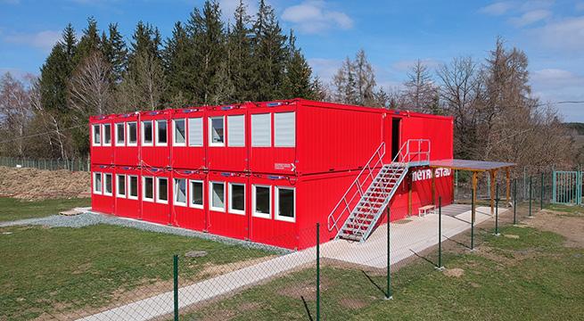 """Escritório de obra para """"Talspeere Svihov"""", Svihov, República Checa"""
