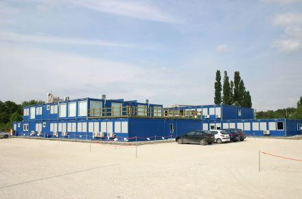 CONTAINEX - Obra estação de tratamento de águas residuais, HU-Csepel/Budapeste
