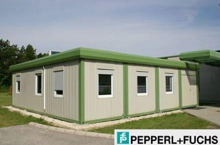 CONTAINEX - Contentor escritório para alargamento de escritório para a Firma Pepperl+Fuchs, HU-Veszprem