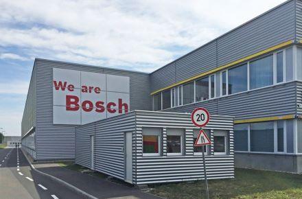Salas de formação a partir de contentores-escritório para a BOSCH, em Miskolc, Hungria