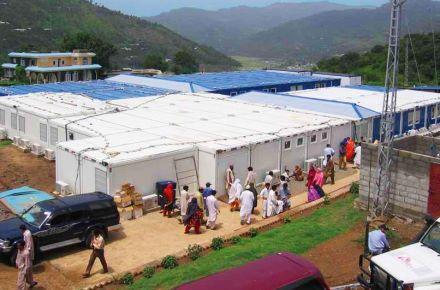 Utilização numa situação de catástrofe e para fins de ajuda no Paquistão
