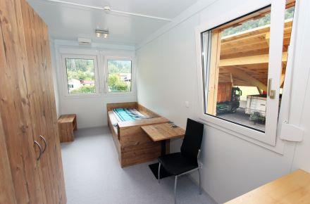Espaços residenciais e de alojamento em cerca de 15 m²