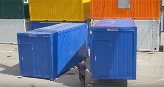 CONTAINEX - Assembly of Modular Buildings