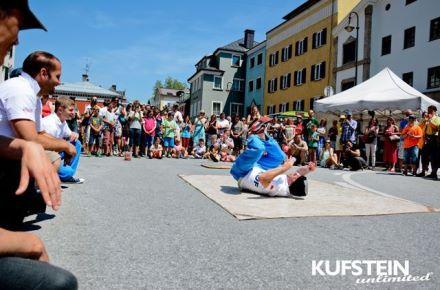 Kufstein unlimited Showeinlage © Kufstein unlimited