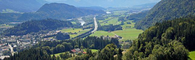 Kufstein/Tirol: Uma cidade cheia de vida – rodeada de uma natureza única - LKW WALTER